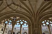 Portugal, Lisbon, Jeronimos Monastery, the cloister