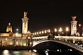 France, Paris, Alexander III bridge