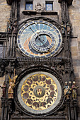 Astronomical Clock At The Old Town Square, Prague, Czech Republic © Carlos Sanchez Pereyra/ Axiom
