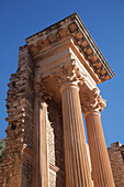 'Stage of Roman theatre; Guelma, Algeria'