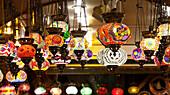 'Lights for sale in Grand Bazaar; Istanbul, Turkey'