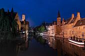 'Belfry tower; Bruges, Belgium'
