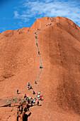 'Uluru, formerly known as Ayers Rock; Northern Territory, Australia'