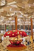 'Interior of an airport terminal; Singapore'