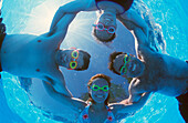 Four Adults In Swimming Pool