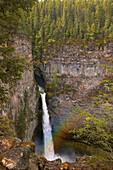 Rainbow, Spahats Falls, Wells Gray Provincial Park, British Columbia Canada