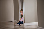 Child Hides In A Closet