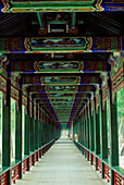 Covered Walkway At The Summer Palace, Beijing, China