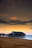 Pier In Humberside, England