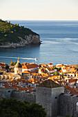 Walled City Of Dubrovnik, Southeastern Tip Of Croatia, Dalmatian Coast, Adriatic Sea, Croatia, Eastern Europe
