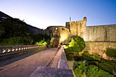 Walled City Of Dubrovnik, Southeastern Tip Of Croatia, Eastern Europe