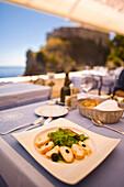 Meal At Outdoor Restaurant, Nautika-Dubrovnik, Croatia, Europe