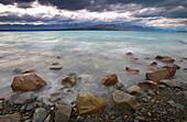 Lake Pukaki, Southern Alps, New Zealand