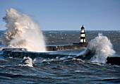 Lighthouse, Seaham, England