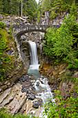 Christine Falls, Mount Rainier National Park, Washington, Usa