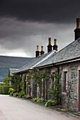 Buildings Under Storm Clouds, Scotland