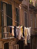 Hanging Laundry, Naples, Italy
