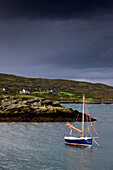 Sailboat On Water, Colonsay, Scotland