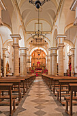 'Church Of San Sebastian; Cañete La Real, Malaga, Andalusia, Spain'