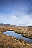'River Running Through An Irish Bog; Connemara, County Galway, Ireland'