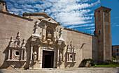 'Entrance To The Monastery Of Santa Maria De Poblet; Catalonia, Spain'