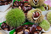 'Chestnuts With And Without Outer Shell; Paris, France'