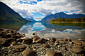'Kathleen Lake In Kluane National Park And Reserve In The Yukon Wilderness; Haines Junction, Yukon Territory, Canada'
