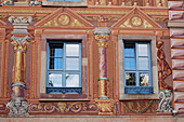 'Decorative Painted Buildings And Windows; Strasbourg, France'