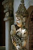 'Buddhist Statue At Mandarin Oriental Dhara Dhevi Hotel; Chiang Mai, Thailand'