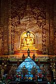 'Interior Of Wat Phra Singh Temple; Chiang Mai, Thailand'