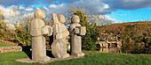 'The 3 Musicians Sculptures; Kenmare, County Kerry, Ireland'