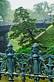 'Ornamental Railing At Imperial Palace; Toyko, Japan'