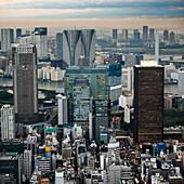 'Skyline At Dusk; Tokyo, Japan'