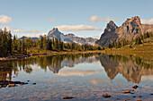 'View Of Lake On Opabin Plateau Near Lake O'hara In Yoho National Park; Field, British Columbia, Canada'