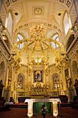 'Interior Of Notre-Dame De Quebec Basilica-Cathedral; Quebec City, Quebec, Canada'
