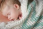 'A Sleeping Baby; Alberta, Canada'