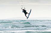 'Wakeboarding; Dos Mares Beach Tarifa Spain'