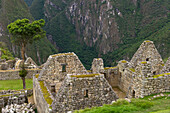 'Historical Buildings At Machu Picchu; Peru'