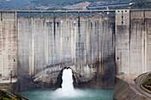 'Water Dam Near Granada; Andalusia, Spain'