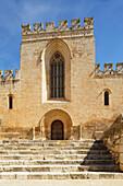 'Steps To 12Th Century Santes Creus Monastery; Aiguamurcia, Spain'