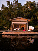 'Lake Of The Woods, Ontario, Canada; Lakehouse'