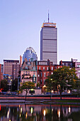 Back Bay Area, Prudential Tower, Boston, Massachusetts, Usa
