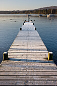 A Dock In The Lake, Cumbria, England