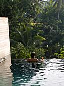 'Bali Indonesia; Woman In A Pool'