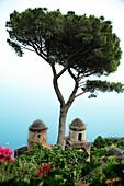 'Ravello, Campania, Italy; Building Rooftop'