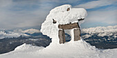 'A Snow Covered Structure; Whistler, British Columbia, Canada'