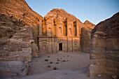 'Ruins Of The Monastery; Petra, Jordan'