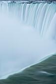 Closeup Of Horseshoe Falls - Niagara Falls - Ontario Canada