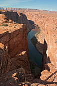 'Horseshoe Bend On The Colorado River; Arizona, United States of America'