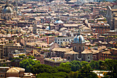 'The View Of Rome From Saint Peter's Basilica; Rome, Italy'